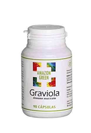 Amazon Green - GRAVIOLA 500MG 90 CAPSULAS AMAZON GREEN ...