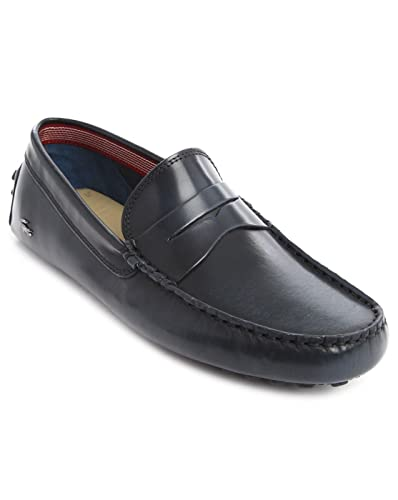 fe0b2b951 Lacoste - Moccasins - Men - Dark Blue Mocassins Concours for men - 41