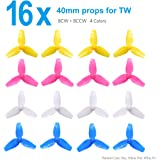 BETAFPV 4 Sets 3-blade 40mm Props for Quadcopter Beta75 BNF Tiny Whoop