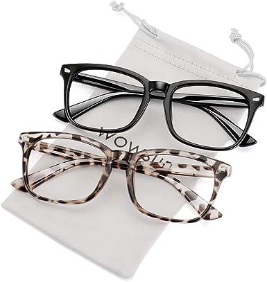 New Mens Womens Large Clear Lens Frame Glasses Designer Fashion Optical RX Nerd