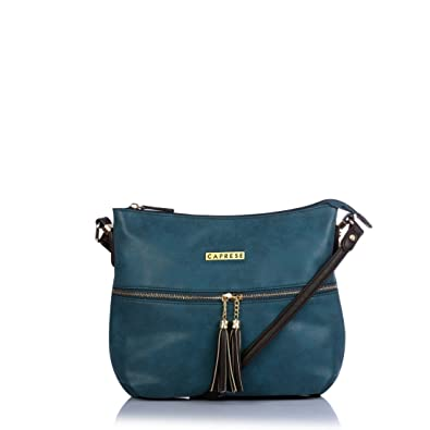 8ceb8d027 Caprese Perry Women s Sling Bag (Green)  Amazon.in  Shoes   Handbags