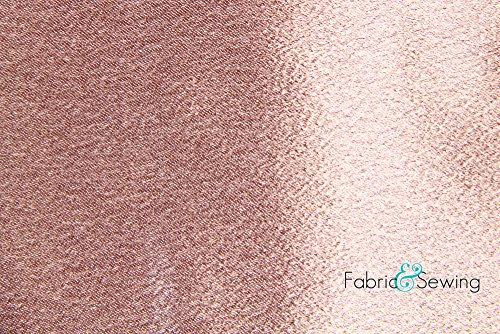 Mauve Pink Crepe Back Satin Fabric Polyester 7.5 Oz 58-60