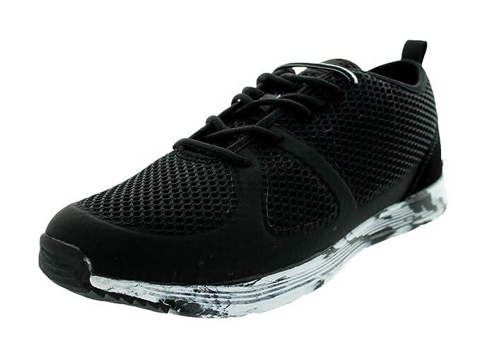 El Camino de un rescate Hombres Lite Zapato diario, color Negro, talla 42
