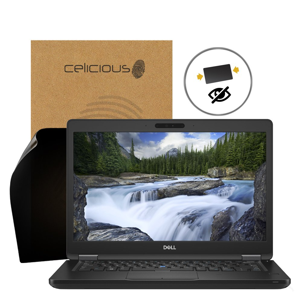 Celicious Privacy 2-Way Anti-Spy Filter Screen Protector Film Compatible with Dell Latitude 14 5490