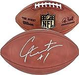 Cam Newton Carolina Panthers Autographed Duke Pro Football - Fanatics Authentic Certified - Autographed Footballs