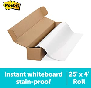 Post-it Dry Erase Surface, 25' x 4' (DEF25X4)
