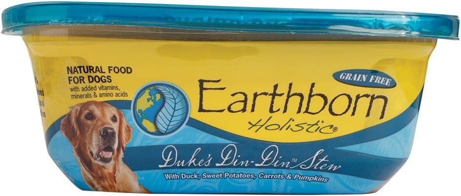 Earthborn Holistic Duke's Din-Din Stew Grain-Free Moist Dog Food