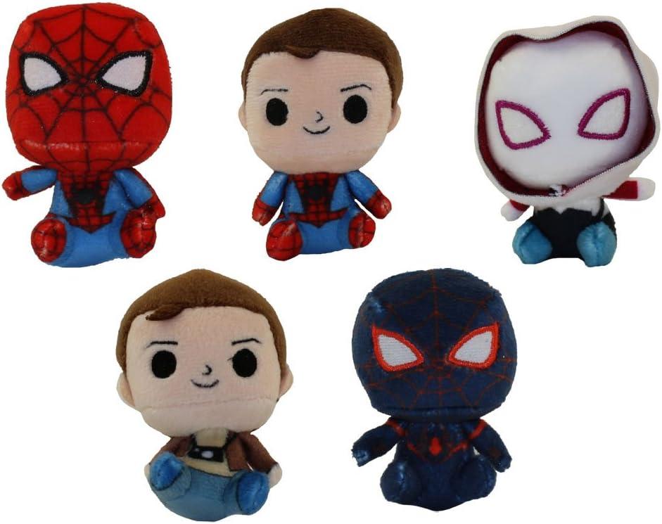 Spider-Man Plushies Funko Mystery Minis Vinyl Figures Spider-Man Unmasked
