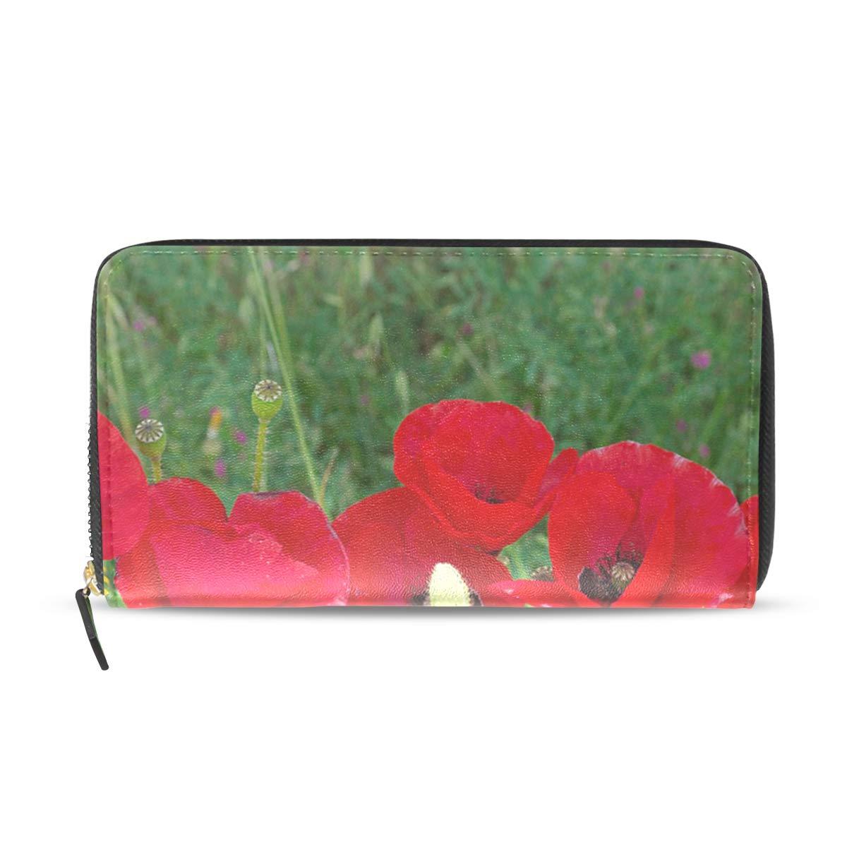 Amazon.com: Womens Wallets Poppy Flowers