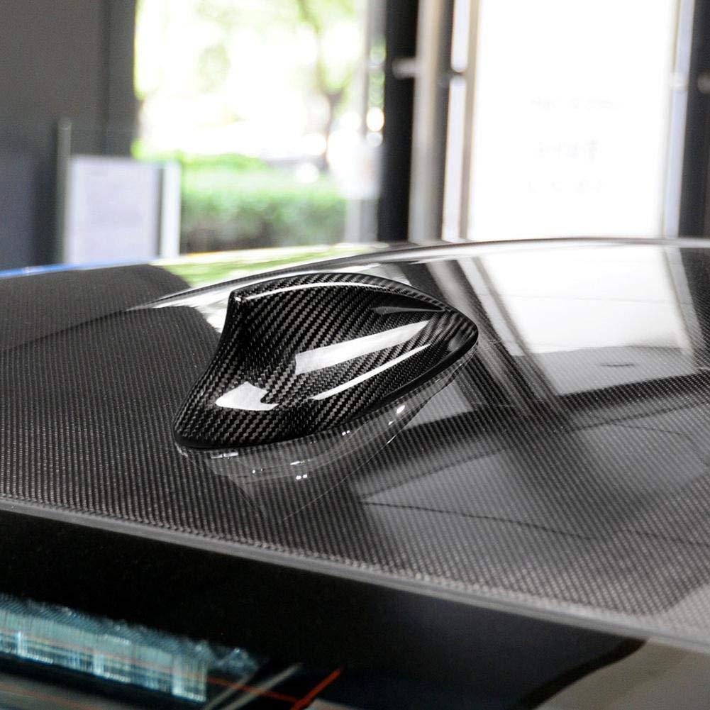Cuque Antenna Cover Antenna Base Cover Aerial Trim Car Carbon Fiber Antenna Shark Fin Cover Trim for F20 F21 F48 F49 F45 F46