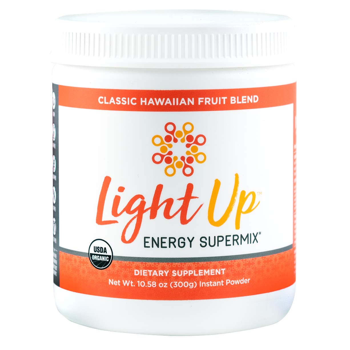 Inspire Organics Light Up Daily Superfoods Energy and Stress Supplement Vegan Pre Workout Energy...