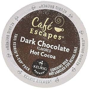 Green Mountain Coffee Roasters Gourmet Single Cup Dark Chocolate Hot Chocolate 12 K-Cups - (Pack of 2)