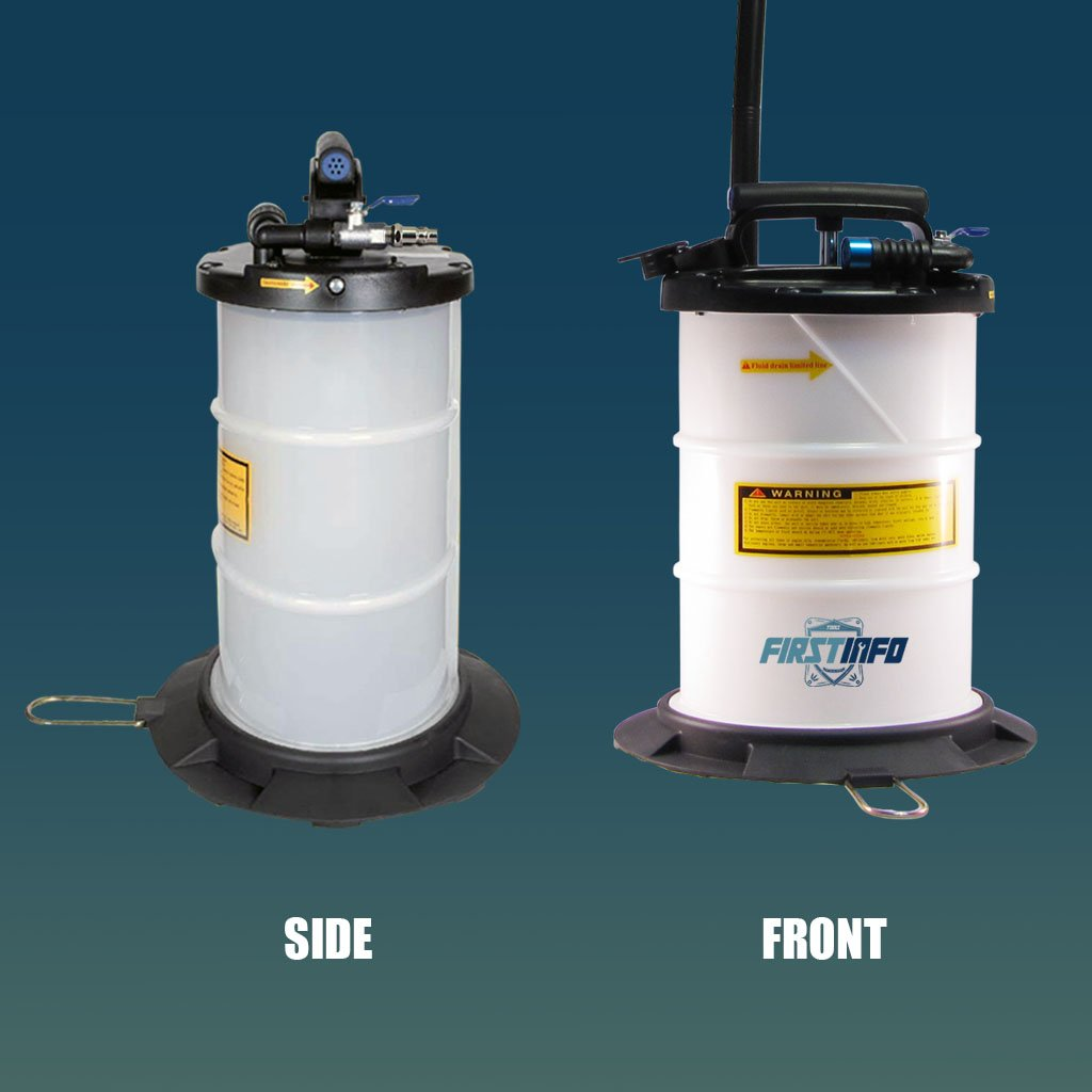 FIRSTINFO 6L Pneumatic and Manual Operation Oil or Fluid Extractor by FIT TOOLS (Image #6)