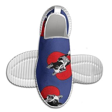 Bulldog Lover Men Sports Sneakers Walking Mesh Shoes