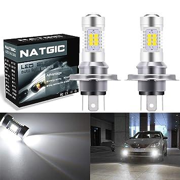 ngcat Auto bombilla LED 2pcs h4 DRL Niebla Luz chipsets 2835 21 SMD bombillas LED con