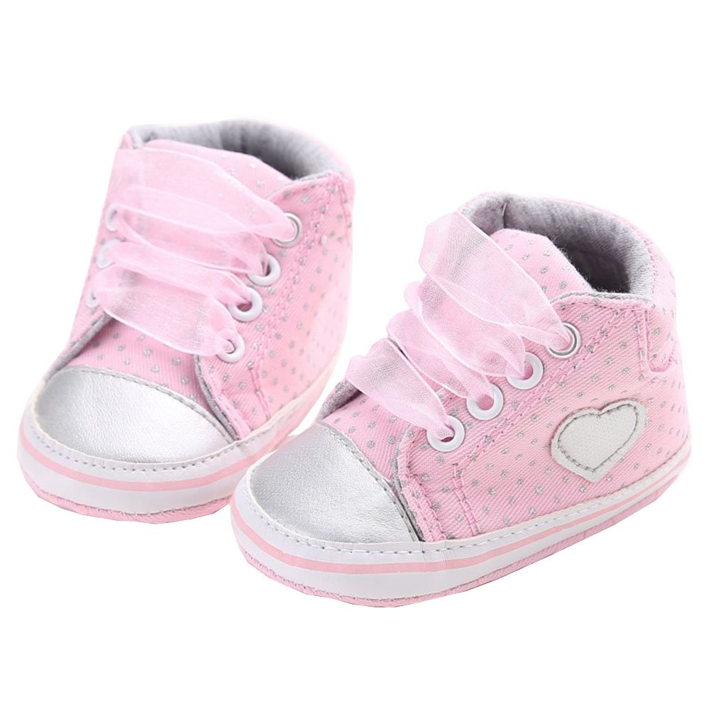 Thefoud Infant Toddler Baby Boy Girl Soft Sole Crib Shoes Sneaker Newborn Casual Shoes