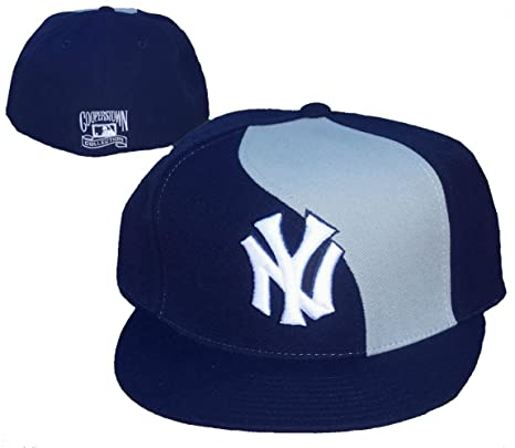 9ca37d6e65 Image Unavailable. Image not available for. Color  New York Yankees Fitted  ...