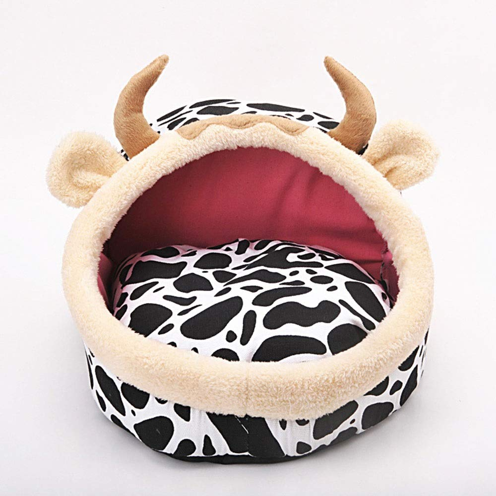 As-picture S As-picture S JOYIYUAN Pet Nest Fashion Kennel Cat Litter Pet Bed (color, Size   S)