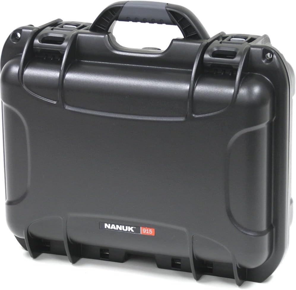 Nanuk 915 Waterproof Hard Case with Foam Insert - Black