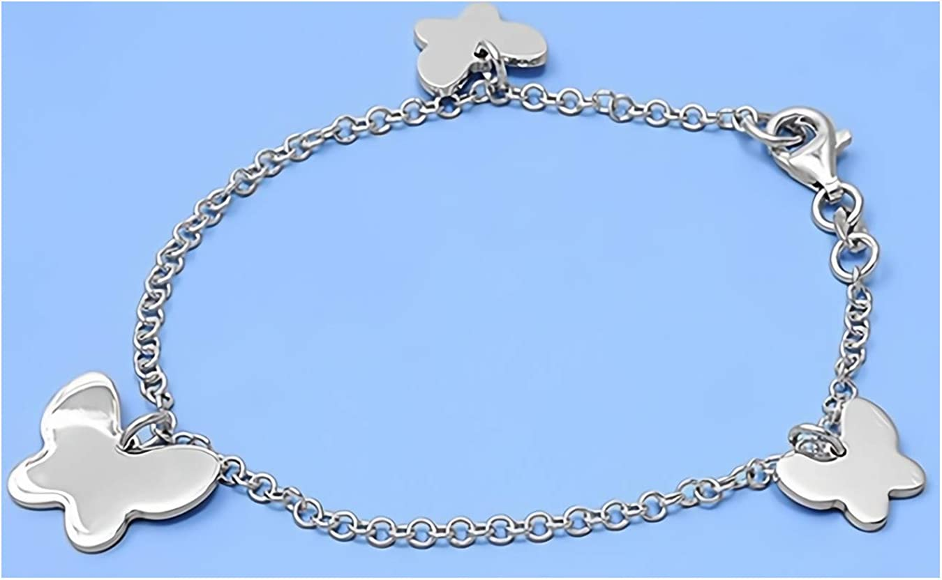 Glitzs Jewels 925 Sterling Silver Necklace Jewelry Gift for Women and Girls