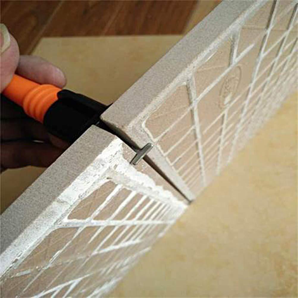 Nivelador de azulejos con llave especial LAMPTOP sistema de espaciadores de nivelaci/ón de azulejos para construcci/ón de paredes y pisos sistema de nivelaci/ón de azulejos reutilizable