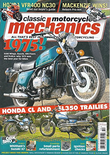 Classic Motorcycle Mechanics (October 2015 - Issue 336) - Honda Motorcycle Magazine