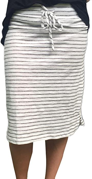 8cdc43e3c6 Lookatool Skirts, Women Sexy Stripe Skirt Summer Elastic Short Skirt ...