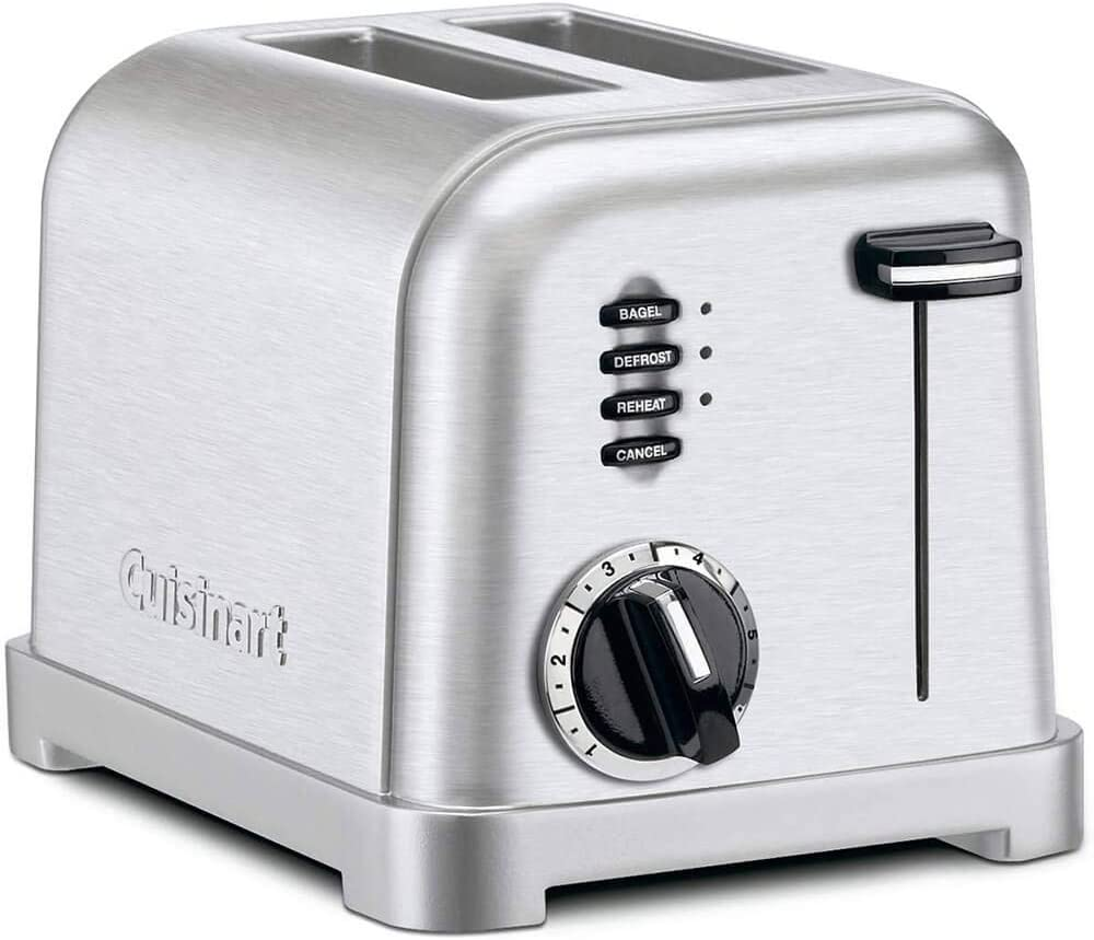 Cuisinart CPT160P1 / CPT-160P1 / CPT-160P1 2-Slice Wide Slot Toaster - Stainless Steel