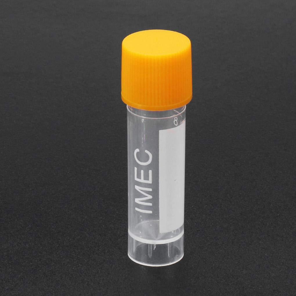 Yongse 10pcs 1.8ml Plastic Graduated Vial 0.063oz Cryovial Tube Sample by Yongse (Image #4)
