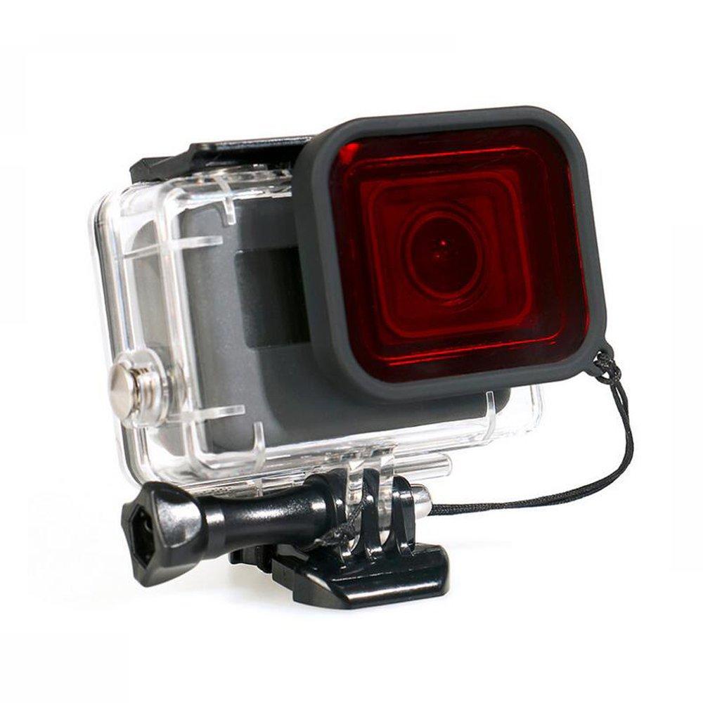 45 m水中防水ダイビングハウジング保護ケースカバーwith Red Filter for GoPro Hero 5カメラアクションカメラ   B01N4M6Y0M