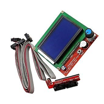 SM SunniMix 12864 - Controlador de pantalla inteligente y 1 placa ...