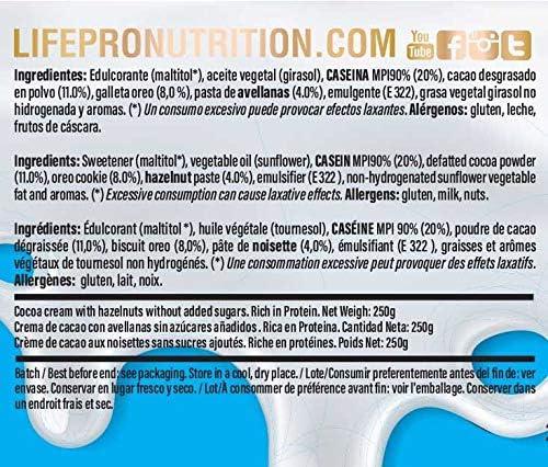 Life Pro Fit Food Protein Cream Choco Oreo | 22% Proteina ...