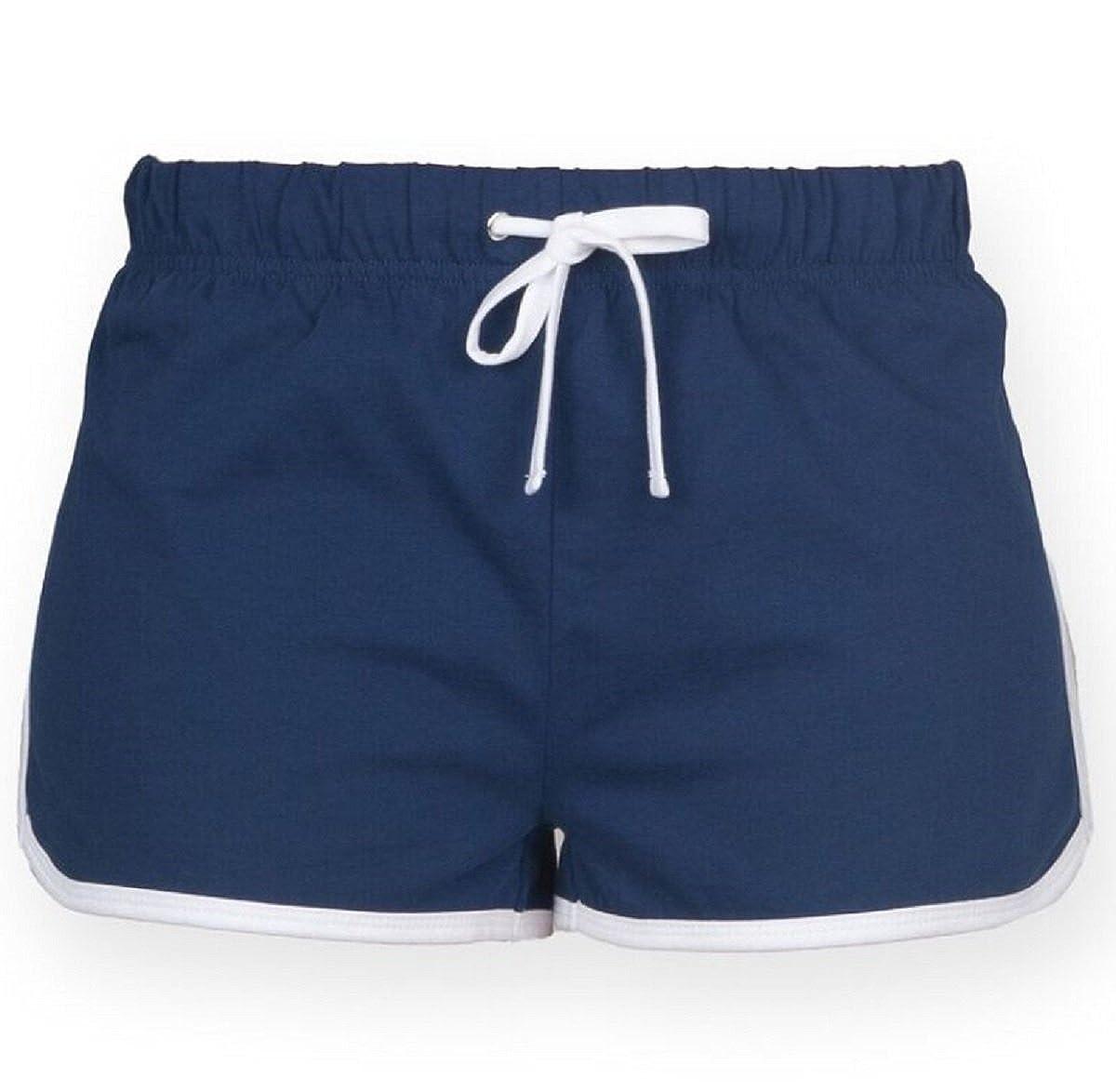 8e721633b7912 Skinnifit Womens Retro Shorts: Amazon.co.uk: Clothing
