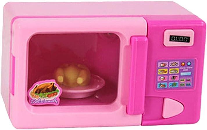 Juguetes de Simulación de Microondas Plástico Electrodomésticos ...