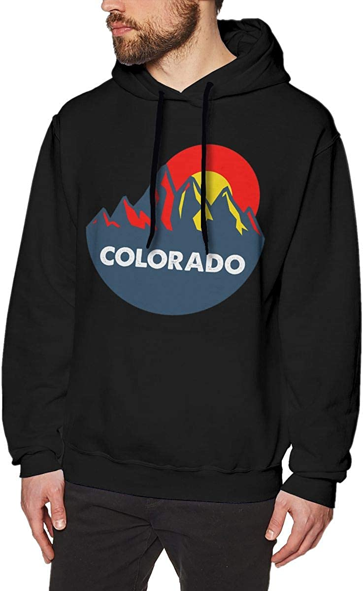HelplesS Colorado Cool Mens Hat and Pocketless Sweater Black