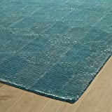 Kaleen Rugs Evanesce Collection ESE05-91 Teal 5' x