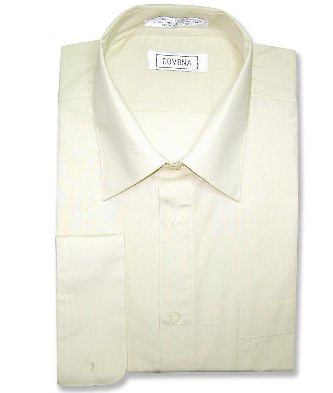 Mens ivory color dress shirt