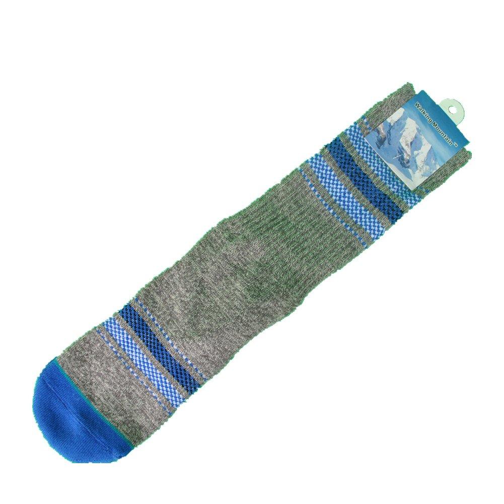 Walking Mountain Athletic Socks-New Style Cotton Fashion Grey Mens Socks Size US8-12 1 Pair)