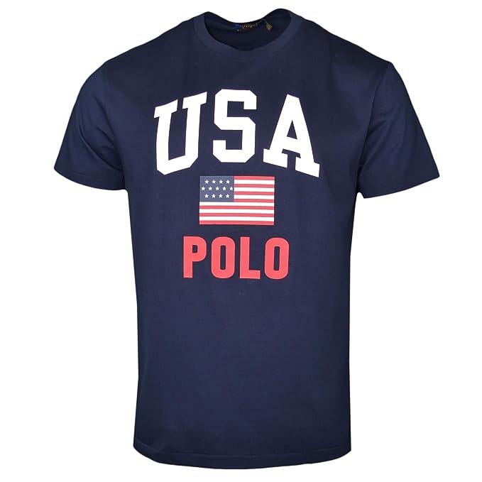 Polo Ralph Lauren Camiseta de algodón Classic Fit Estampada 743917 ...