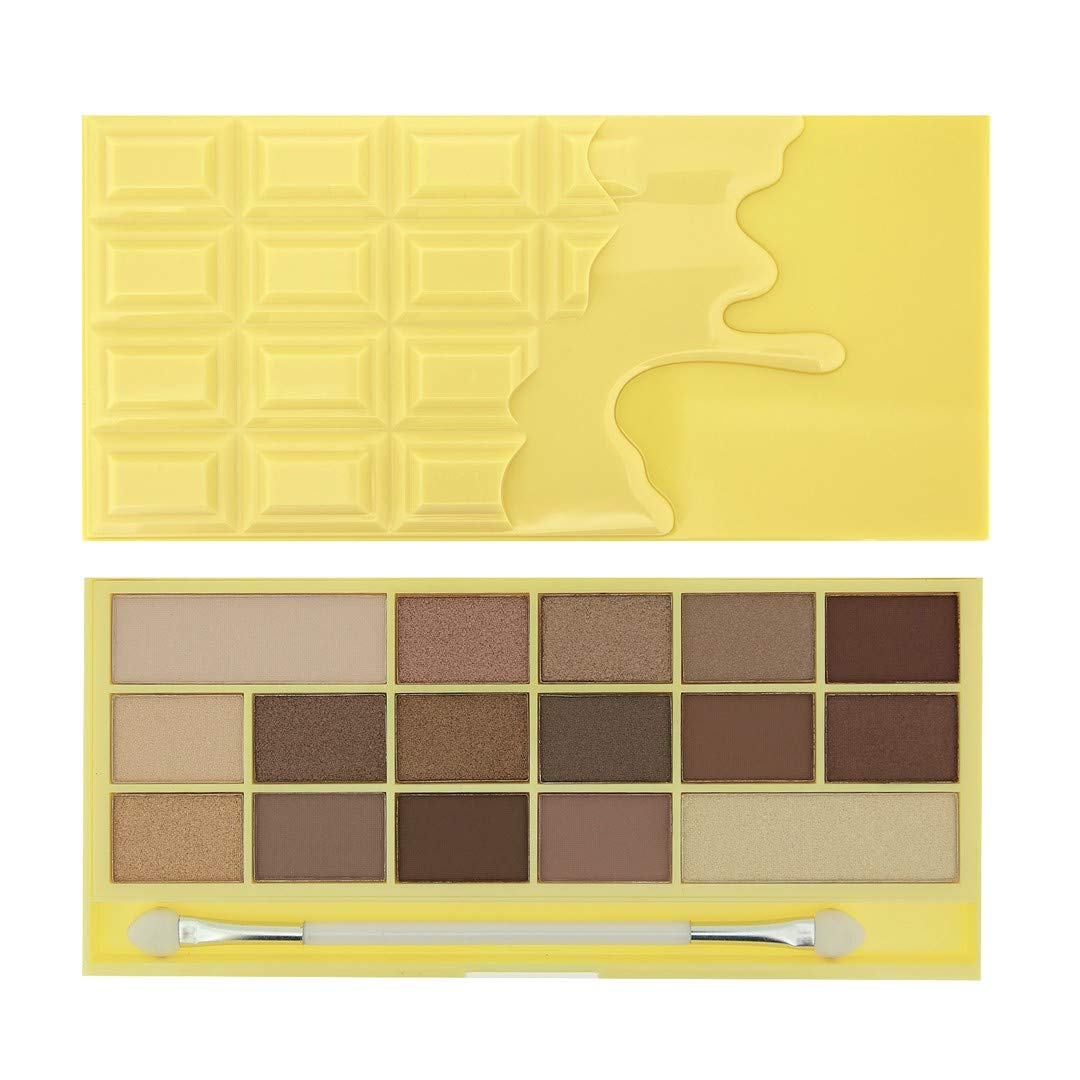 Makeup Revolution Chocolate Bar Eyeshadow Palette, Naked Chocolate