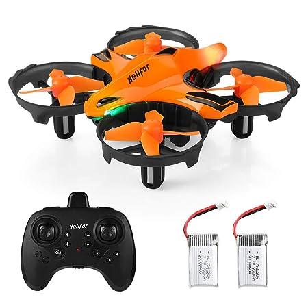 HELIFAR H803 Mini Drohne Kinder Quadrocopter Drohne Höhenhaltung, Headless Modus, Gestenmodus, Hindernisvermeidung, One Key S