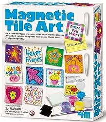 4M Magnetic Tile Art
