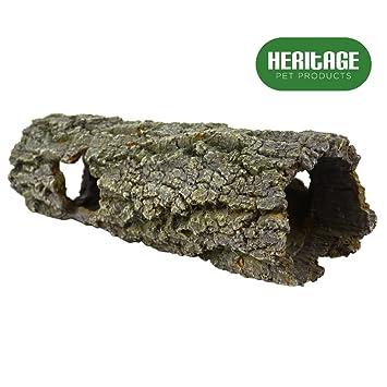 HERITAGE PET PRODUCTS Heritage TB093 - Figura decorativa para acuario, diseño de árbol de pesca, 30 cm: Amazon.es: Productos para mascotas
