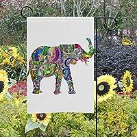 Banderas de jardín de Doble Cara con diseño de Elefante de ...