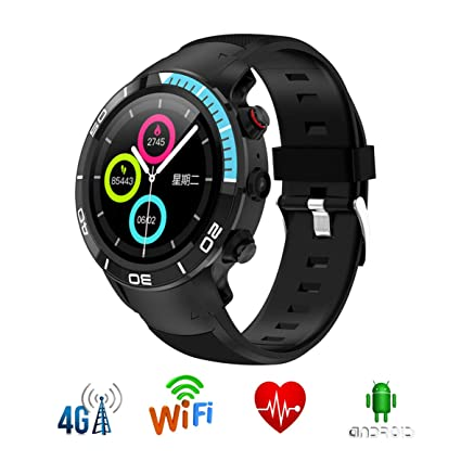 Amazon.com : IP68 Smart Watch Android 7.1 MTK6739 Quad Core ...