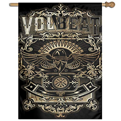 BeatriceBGault-id Volbeat Popular Home Garden Flag Polyester Flag Indoor/Outdoor Wall Banners Decorative Flag Garden Flag (27x37 -