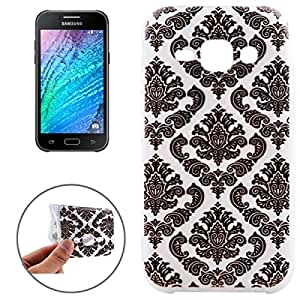 Ultrathin Embossed Flowers Pattern TPU Protective Case for Samsung Galaxy J5