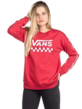 Vans Sudadera Too Much Fun Rojo Talla: XS (X-Small)