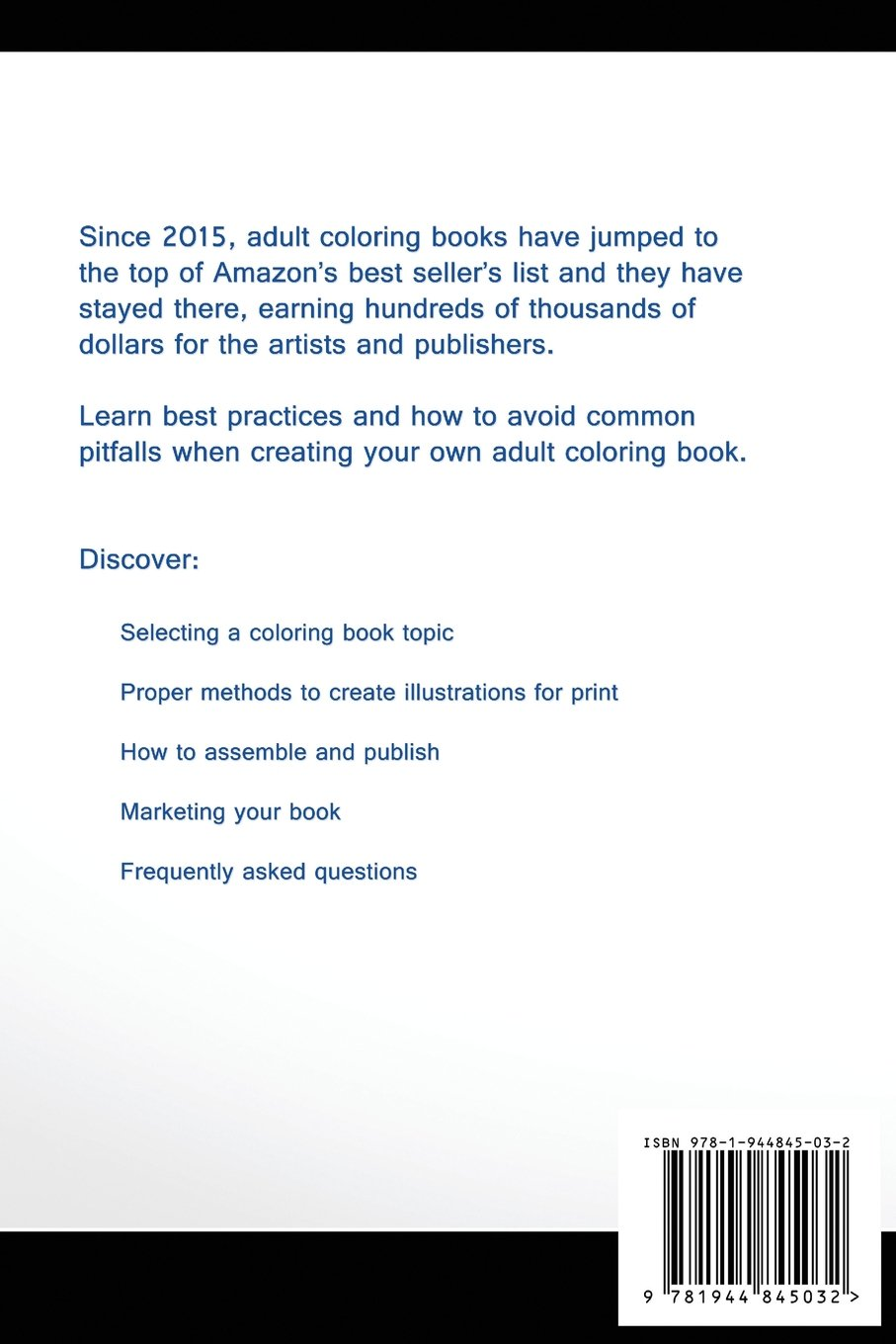 amazon com how to self publish an coloring book on