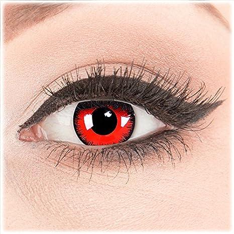 Meralens 1 paio di lenti a contatto colorate anno.Migliore qualità ad  Carnevale e con e90dba5aa1fc